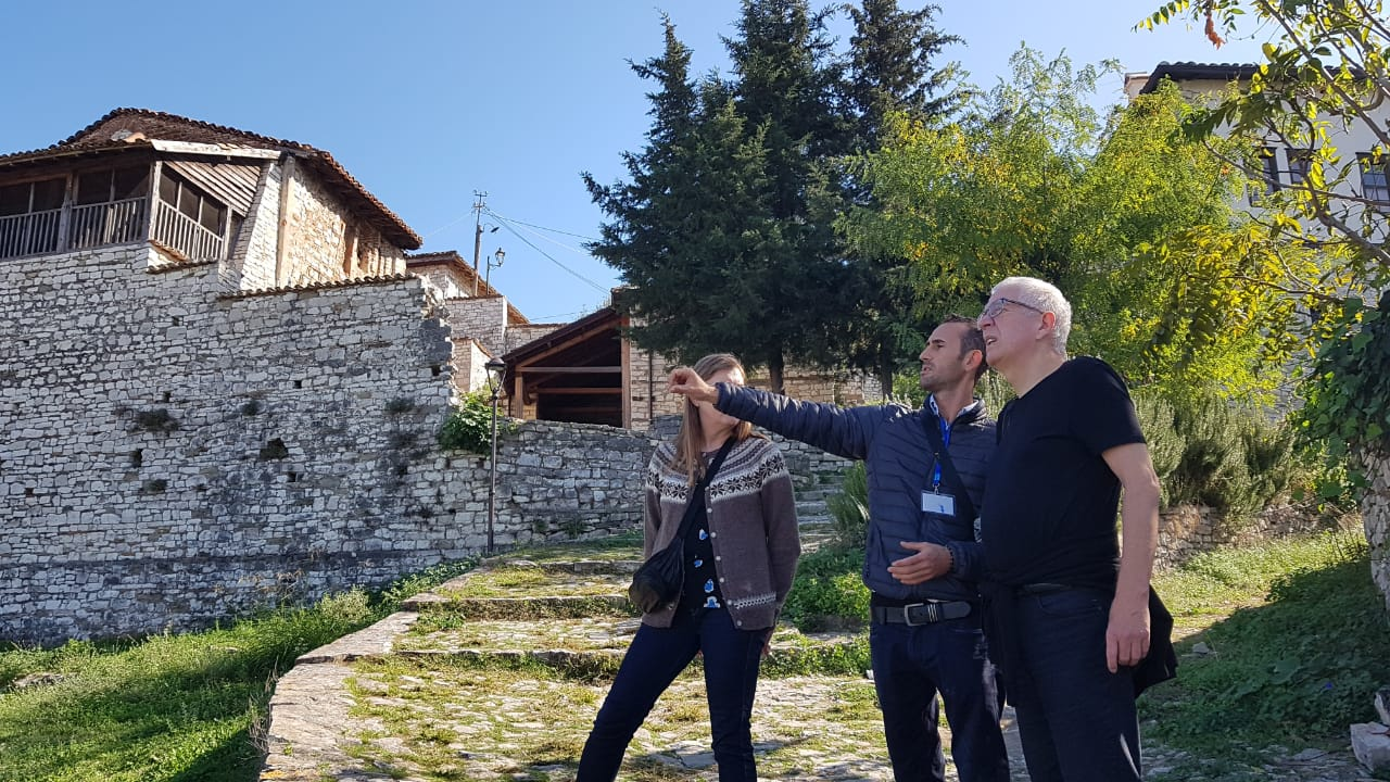 Berat Walking Tour – Cafe Gliko Tasting in a local family ( only ours )